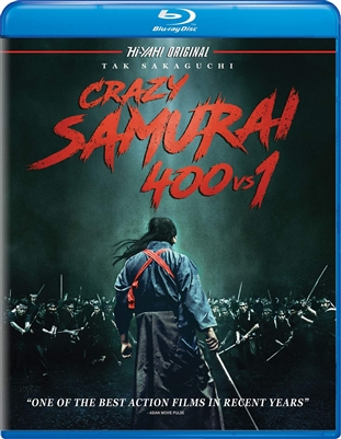 Crazy Samurai 400 vs. 1 Blu-ray (Rental)
