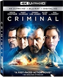 Criminal 4K UHD 06/16 Blu-ray (Rental)
