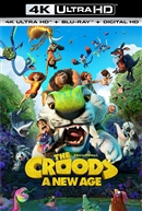 (Releases 2021/02/23) Croods: A New Age 4K UHD 01/21 Blu-ray (Rental)