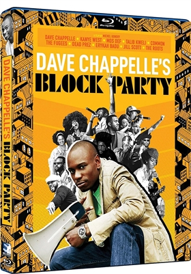 (Releases 2021/04/20) Dave Chappelle's Block Party 02/21 Blu-ray (Rental)