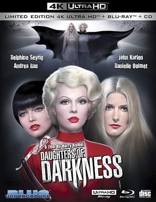 (Pre-order - ships 10/27/20) Daughters of Darkness 4K UHD 09/20 Blu-ray (Rental)