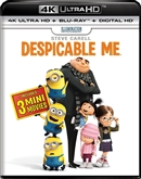 Despicable Me 4K UHD Blu-ray (Rental)