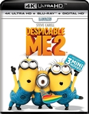 Despicable Me 2 4K UHD Blu-ray (Rental)
