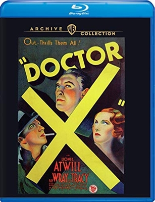 (Pre-order - ships 04/20/21) Doctor X 04/21 Blu-ray (Rental)