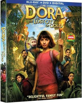 (Pre-order - ships 11/19/19) Dora And The Lost City Of Gold 11/19 Blu-ray (Rental)