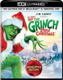 Dr Seuss How the Grinch Stole Christmas 4K UHD Blu-ray (Rental)