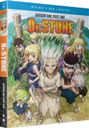 (Pre-order - ships 09/22/20) Dr. Stone: Season One - Part One Disc 1 Blu-ray (Rental)