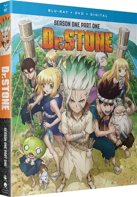 Dr. Stone: Season One - Part One Disc 1 Blu-ray (Rental)