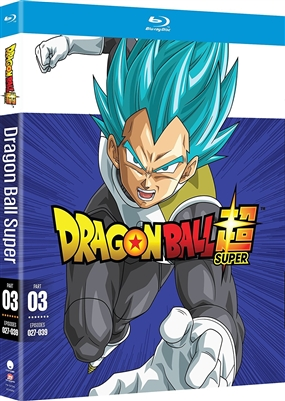 Dragon Ball Super Part 3 Disc 1 Blu-ray (Rental)