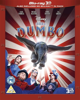 Dumbo 2019 3D Blu-ray (Rental)