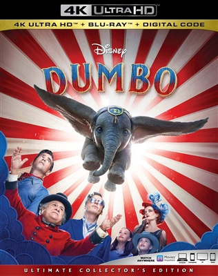 Dumbo 4K 06/19 Blu-ray (Rental)