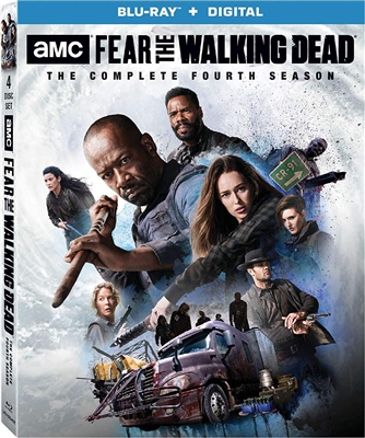 Fear The Walking Dead Season 4 Disc 2 Blu-ray (Rental)