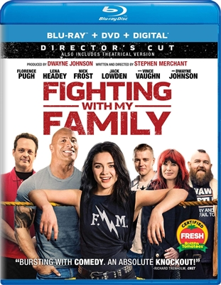 Fighting With My Family 05/19 Blu-ray (Rental)