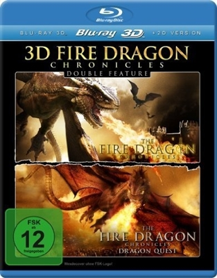Fire Dragon Chronicles / Dragonquest 3D Blu-ray (Rental)