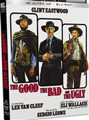 Good, the Bad and the Ugly 4K UHD 02/21 Blu-ray (Rental)