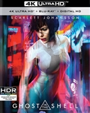 Ghost in the Shell 4K UHD Blu-ray (Rental)