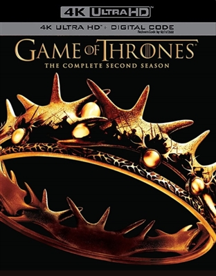 Game of Thrones Season 2 Disc 1 4K UHD Blu-ray (Rental)