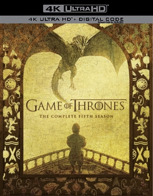 Game of Thrones Season 5 Disc 3 4K UHD Blu-ray (Rental)