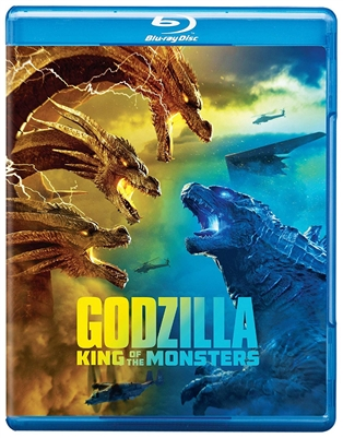 Godzilla: King of the Monster 07/19 Blu-ray (Rental)