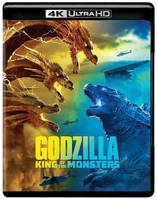 Godzilla: King of the Monsters 4K 07/19 Blu-ray (Rental)