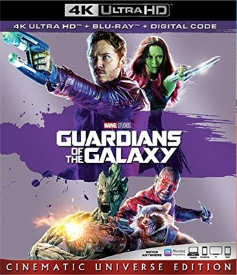 Guardians of the Galaxy 4K UHD Blu-ray (Rental)