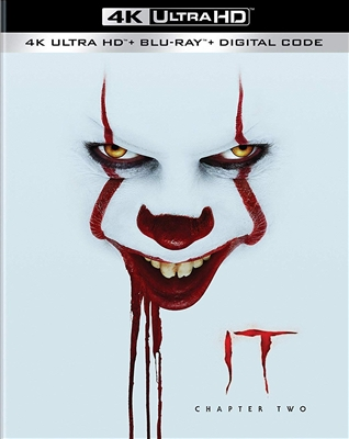 (Releases 2019/12/10) It: Chapter Two 4K UHD 10/19 Blu-ray (Rental)