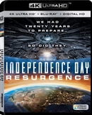Independence Day: Resurgence 4K Blu-ray (Rental)