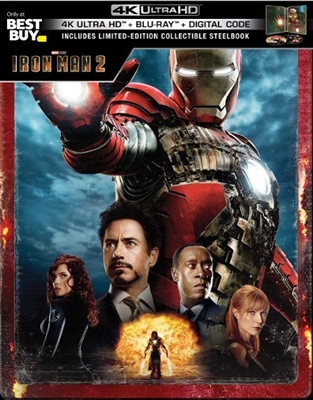 Iron Man 2 4K 07/19 (U.S. Release) Blu-ray (Rental)
