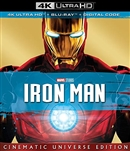 Iron Man 4K 07/19 (U.S. Release) Blu-ray (Rental)