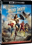 (Pre-order - ships 05/11/21) Justice Society: World War II 4K UHD 04/21 Blu-ray (Rental)