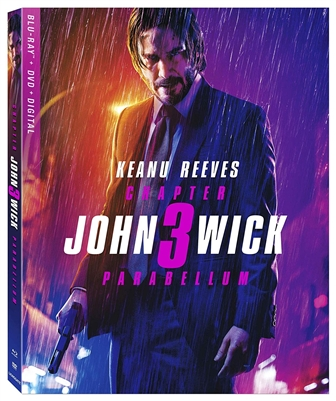 John Wick: Chapter 3 - Parabellum 08/19 Blu-ray (Rental)