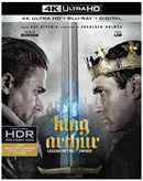 King Arthur: Legend of the Sword 4K UHD Blu-ray (Rental)