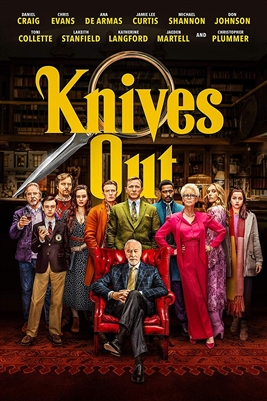 (Pre-order - ships 02/25/20) Knives Out 01/20 Blu-ray (Rental)