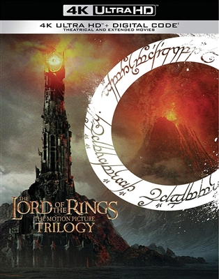 Lord of the Rings: The Two Towers Extended 4K UHD Blu-ray (Rental)