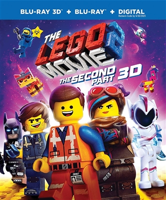 Lego Movie2: Second Part 3D 04/19 Blu-ray (Rental)