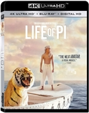 Life of Pi 4K UHD Blu-ray (Rental)