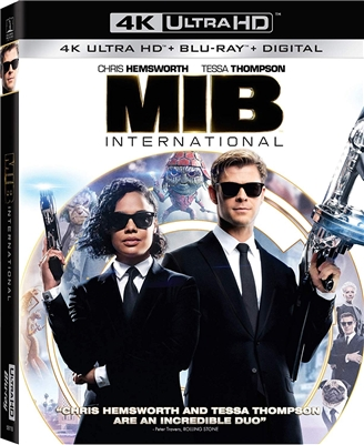 Men in Black: International 4K 08/19 Blu-ray (Rental)