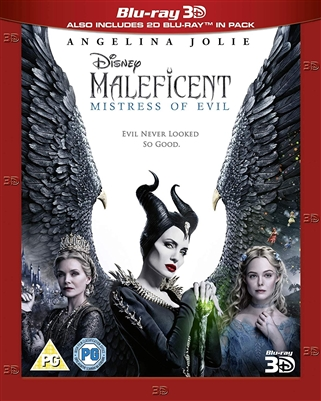 Maleficent: Mistress of Evil 3D Blu-ray (Rental)