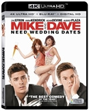 Mike and Dave Need Wedding Dates 4K UHD Blu-ray (Rental)