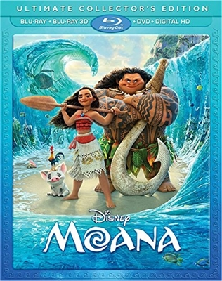 Moana 3D 01/17 Blu-ray (Rental)
