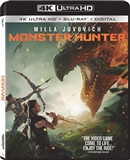 Monster Hunter 4K UHD 01/21 Blu-ray (Rental)