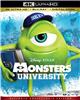 (Releases 2020/03/03) MONSTERS UNIVERSITY 4K 02/20 Blu-ray (Rental)