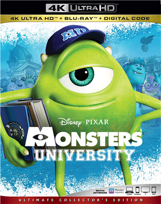 MONSTERS UNIVERSITY 4K 02/20 Blu-ray (Rental)