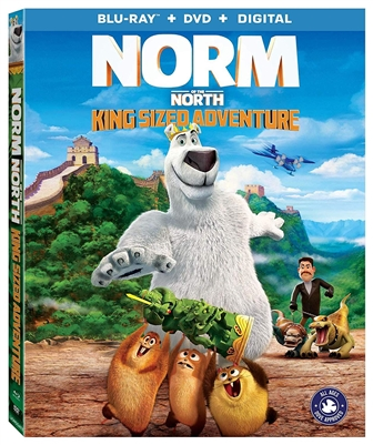 Norm of the North: King Sized Adventure 05/19 Blu-ray (Rental)