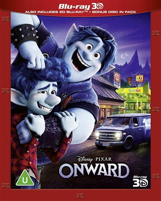 Onward 3D 06/20 Blu-ray (Rental)