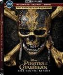 Pirates of the Caribbean: Dead Men Tell No Tales 4K Blu-ray (Rental)