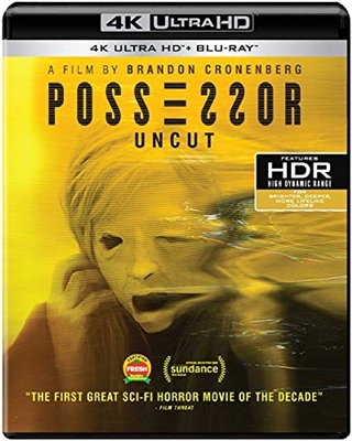 Possessor: Uncut 4K UHD 11/20 Blu-ray (Rental)