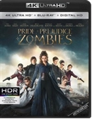 Pride and Prejudice and Zombies 4K UHD Blu-ray (Rental)