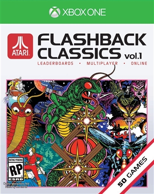 Atari Flashback Classics: Volume 1 Xbox One Blu-ray (Rental)