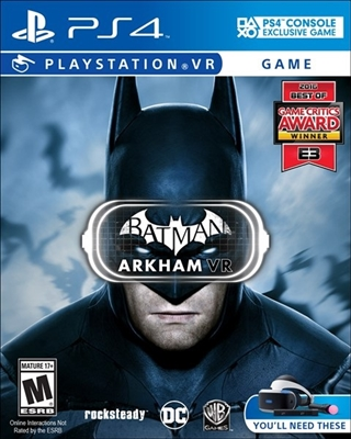 Batman: Arkham VR PS4 Blu-ray (Rental)